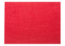 Red felt fabric texture background Stock Photography