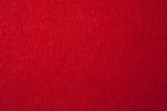 Red felt texture. For background Stock Photos