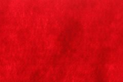 Red felt texture background Stock Image