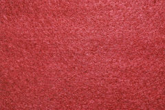 Red felt texture Royalty Free Stock Photos