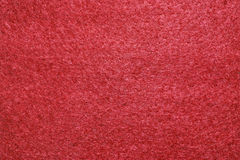 Red felt texture Royalty Free Stock Images