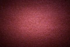 Red felt texture Stock Photography
