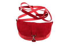 Red female purse Stock Photography