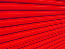 Red fence. Metallic fence Royalty Free Stock Photo