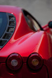 Red Ferrari Royalty Free Stock Photography