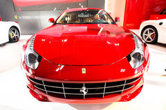 Red Ferrari FF Stock Photos