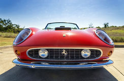 Red 1962 Ferrari 250 GT California Spyder Royalty Free Stock Photo