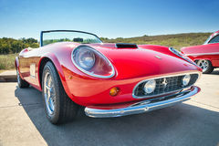 Red 1962 Ferrari 250 GT California Spyder Stock Photos