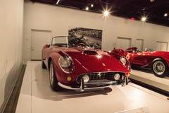 Red 1961 Ferrari 250 GT California Spyder SWB Stock Images