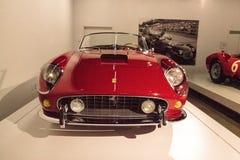Red 1961 Ferrari 250 GT California Spyder SWB Stock Photo