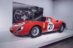 Red 1965 Ferrari 250 LM Royalty Free Stock Images