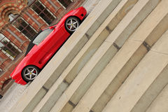 Red Ferrari Royalty Free Stock Photos