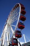 Red Ferris Wheel Stock Image