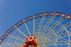 Red ferris wheel Stock Photography