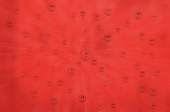 Red Festive abstract background with bokeh Stock Images