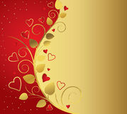 Red festive background Royalty Free Stock Images