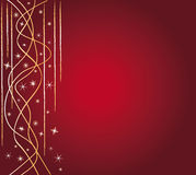 Red festive background Stock Images