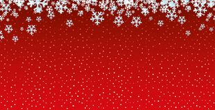Red festive background. Stock Photography