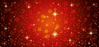Red festive background. Royalty Free Stock Photography