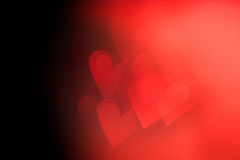 Red festive Valentine's day background Stock Image
