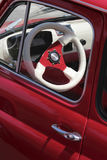 Red Fiat 500 Royalty Free Stock Photography