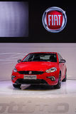 Red fiat ottimo Royalty Free Stock Photos