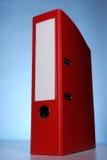 Red file folder Stock Photos