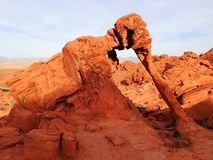 Red fire canyon elephant rock - USA America royalty free stock images