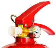 Red fire extinguisher Stock Photos
