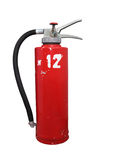 Red fire-extinguisher Royalty Free Stock Images