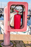 Red fire extinguisher. Stock Photography