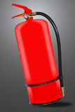 Red Fire Extinguisher with clipping path Stock Photos