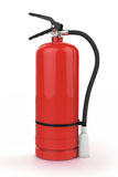 Red Fire Extinguisher Royalty Free Stock Images