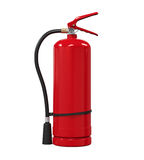Red Fire Extinguisher. Isolated on white background. 3D render Stock Image