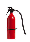 Red Fire Extinguisher on white Royalty Free Stock Image