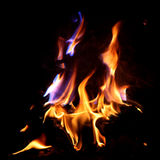 Red Fire and Flame Royalty Free Stock Images