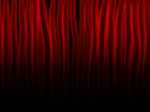 Red Fire Flames Background. Red Fire Flames on black background Royalty Free Stock Photo
