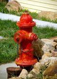 Red Fire Hydrant Royalty Free Stock Photo