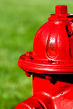 A red fire hydrant Royalty Free Stock Photos