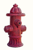 Red fire hydrant isolated. On white.(fake object Stock Image