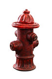 Red fire pump Royalty Free Stock Photography