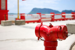 red fire safety Royalty Free Stock Image