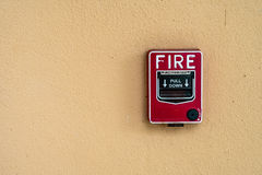 Red Fire switch Stock Photos