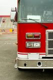 Red fire truck Stock Image