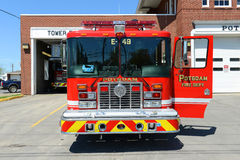 Red Fire Truck Royalty Free Stock Photos