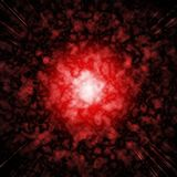 Red fireball Royalty Free Stock Image