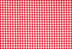 Red firebrick gingham pattern texture background. Red firebrick gingham pattern texture background Stock Photo