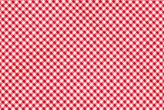 Red firebrick gingham pattern texture background.  Stock Image