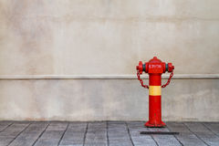 Red fireplug Stock Photography
