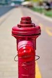 Red fireplug Royalty Free Stock Photos